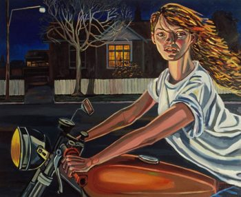 Suburban Night 1989  137x167
