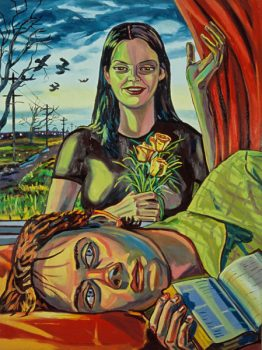 The Poet 2002 183x137