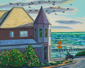 The Ocean House, 2020, 81 x 101 cm Oil on canvas